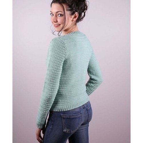 Plymouth Yarn 3011 Women's Cardigan -  ()