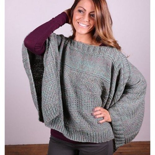 Plymouth Yarn 3035 Poncho -  ()