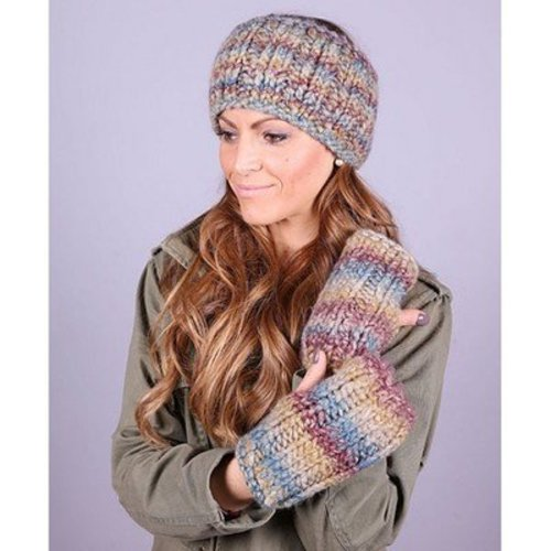 Plymouth Yarn 3041 Headbands & Matching Mitts -  ()