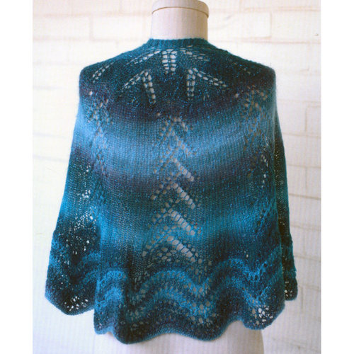 Plymouth Yarn 3056 Circular Shawl -  ()