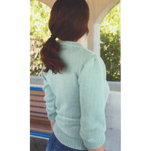 Plymouth Yarn 3071 Women's Leaf Lace Cardigan -  ()