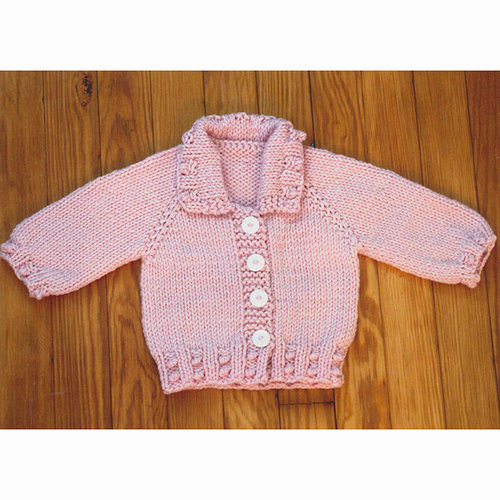 Plymouth Yarn 3078 Baby's Top Down Jacket -  ()