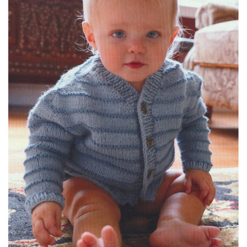 Plymouth Yarn 3091 Baby's Contiguous Cardigan -  ()