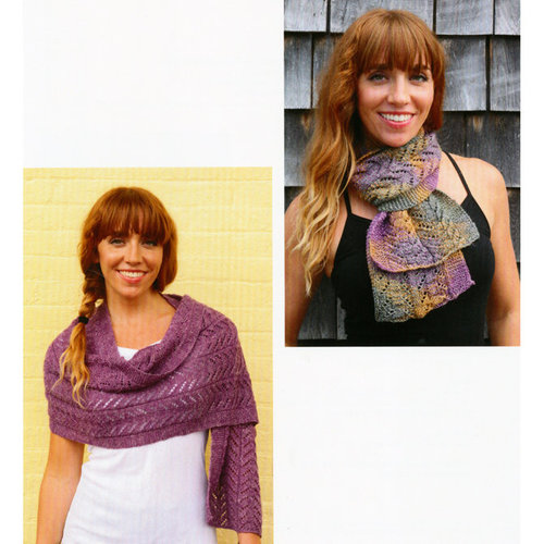 Plymouth Yarn 3108 Lace Scarf and Stole -  ()