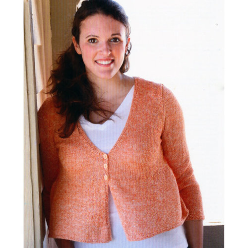Plymouth Yarn 3112 Women's Open Front Cardigan -  ()