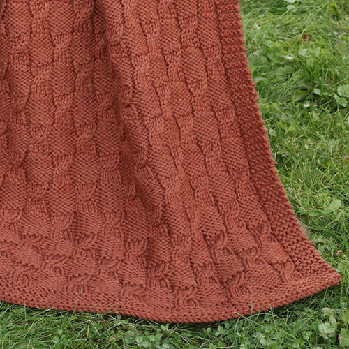 Plymouth Yarn 3223 Chunky Merino Superwash Minicable Throw -  ()