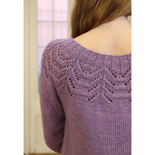 Plymouth Yarn 3328 Women's Pullover PDF -  ()