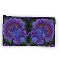 Plymouth Yarn Accessory Bag - Purple Floral (22)