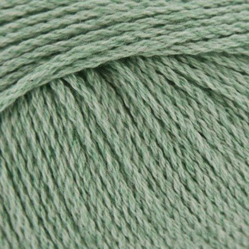 Plymouth Yarn Cashmere de Cotone - Green Melange (002)