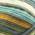 Plymouth Yarn Encore Colorspun Discontinued Colors - Gray, Aqua, Green, Gold (7651)