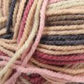 Plymouth Yarn Encore Colorspun - Rose, Tan, Navy (7652)