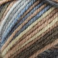 Plymouth Yarn Encore Colorspun - Navy, Beige, Brown, Blue (7653)