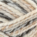 Plymouth Yarn Encore Mega Colorspun - White-Taupe (7154)