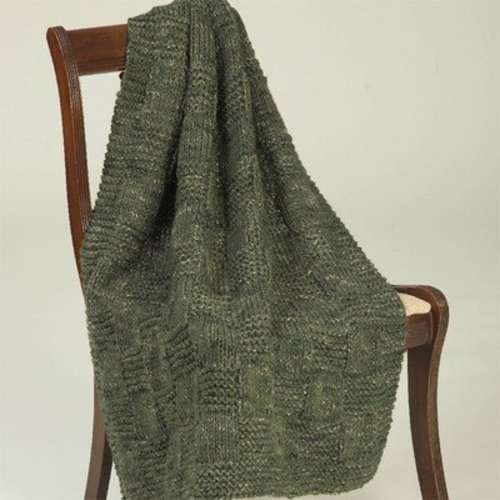Plymouth Yarn F343 Coffee Beenz Textured Throw (Free) -  ()
