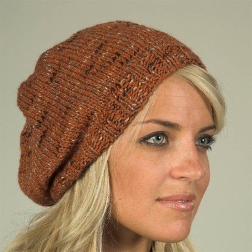 Plymouth Yarn F346 Coffee Beenz Hat (Free) -  ()