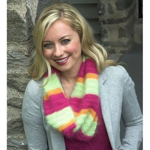 Plymouth Yarn F507 Brighten Up Winter Cowl (Free) -  ()