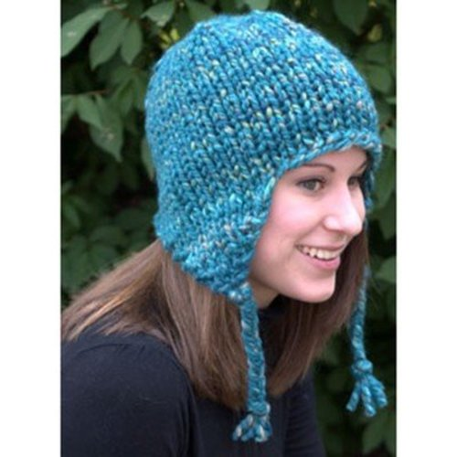Plymouth Yarn F583 Earflap Hat (Free) -  ()