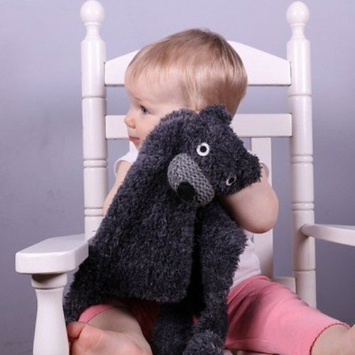 Plymouth Yarn F708 Woobie Security Blanket (Free) -  ()