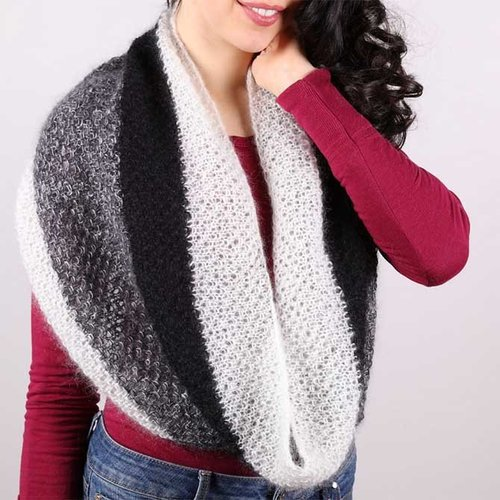 Plymouth Yarn F735 Moss Stitch Cowl (Free) -  ()