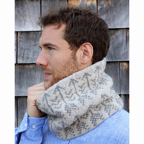 Plymouth Yarn F754 Fairisle Cowl (Free) -  ()