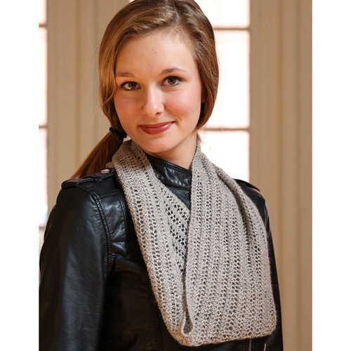 Plymouth Yarn F802 Incan Spice Simple Lace Cowl (Free) -  ()
