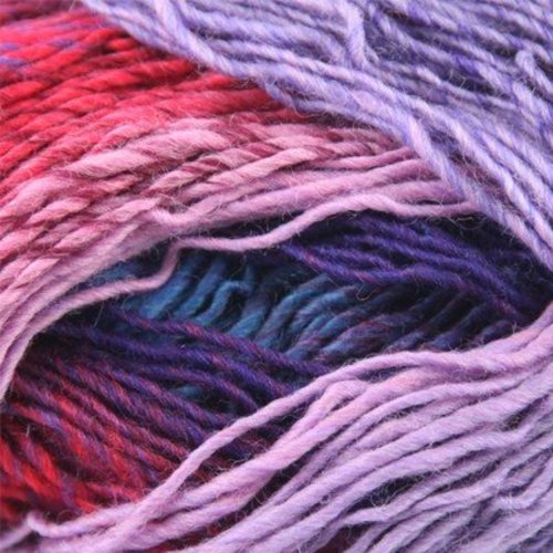 Plymouth Yarn Gina - Lilac, Blue, Red, Royal (01)
