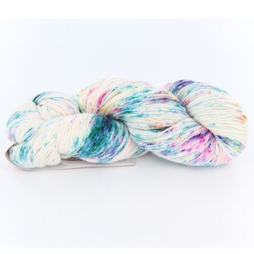 Plymouth Yarn Happy Feet 100 Splash - Crayon (0101)