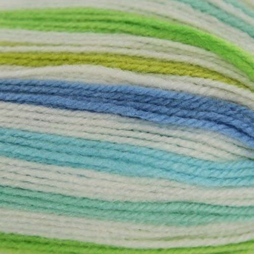 Plymouth Yarn Toybox Collection Candy - Blue-lime-aqua (0119)