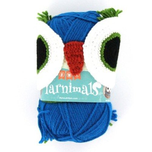 Plymouth Yarn Yarnimals - Owl - Petrol (002)
