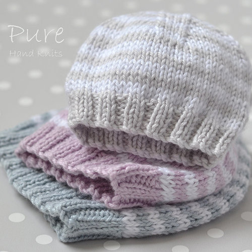 Pure Hand Knits Little One Hat PDF -  ()
