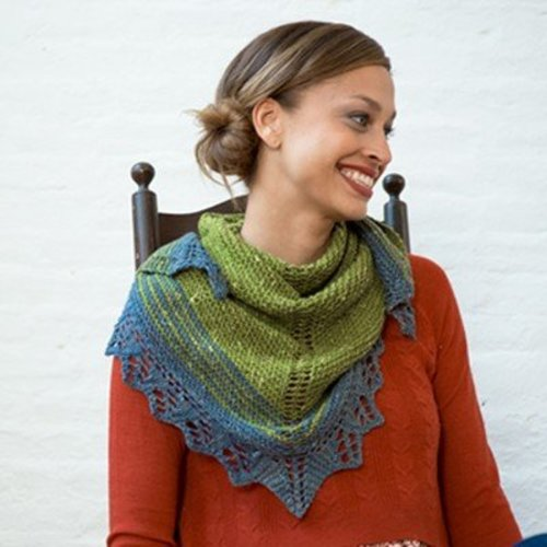 Quaking Aspen Shawl (Free) -  ()