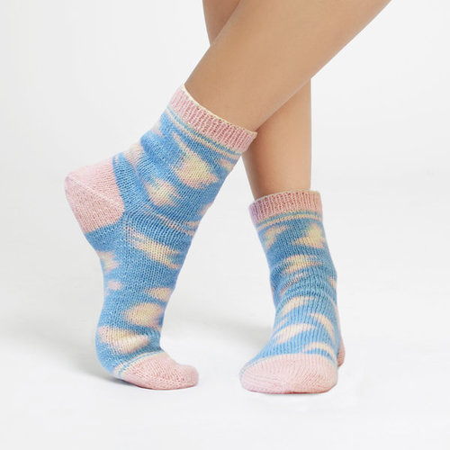 Regia Design Line Kinda Magic Sock by Wool And The Gang - Candy Claws (6460)