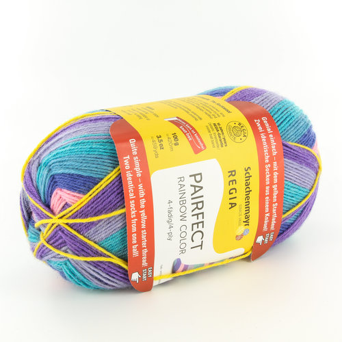 Regia Pairfect Rainbow Color 4-Ply -  ()