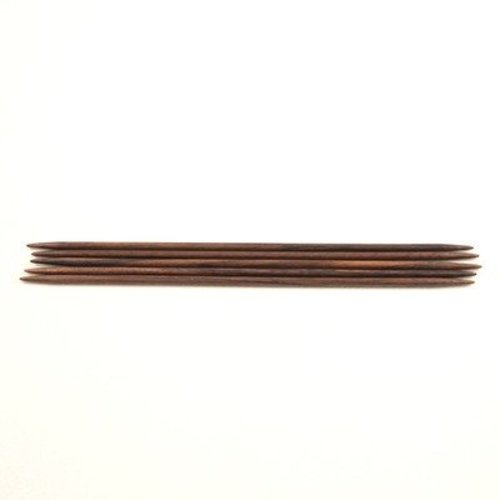 "Reynolds Rosewood 8"" Double Point Needles -  ()"