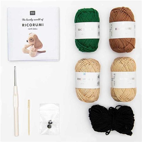 Rico Design Ricorumi Crochet Kits - Puppy (01)