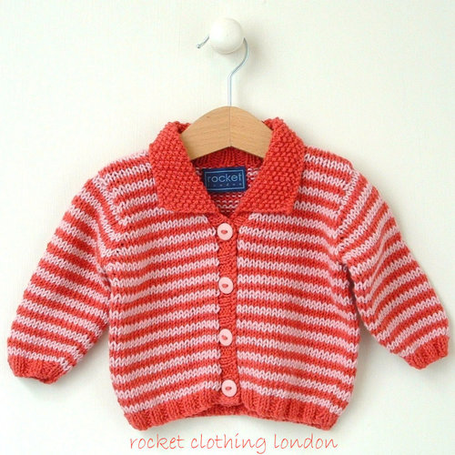 Rocket Clothing London Mini Stripe Cardigan PDF -  ()