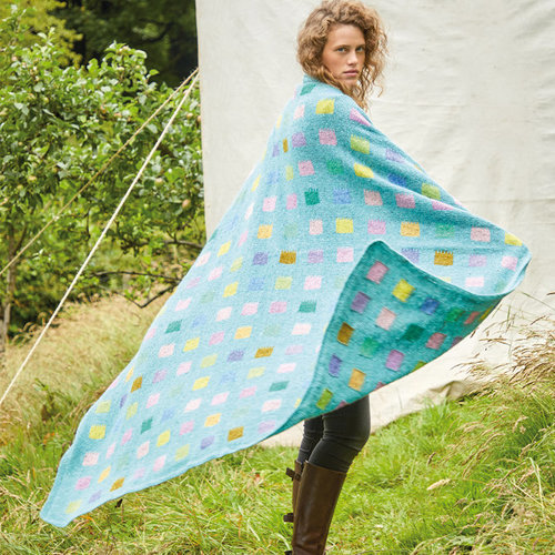 Rowan 04 Paint Daubs Blanket PDF -  ()