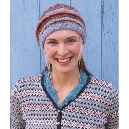 Rowan Button Beret PDF -  ()