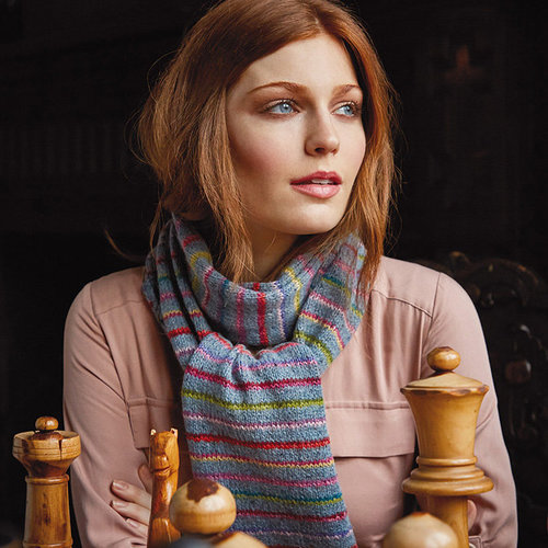 Rowan Colours In The Mist Scarf PDF -  ()