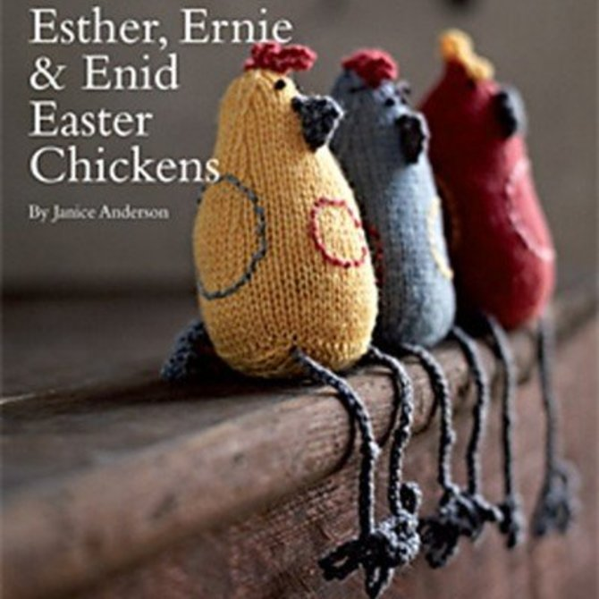Rowan Esther Ernie Enid Easter Chickens Free At Webs Yarn