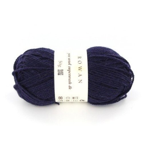 Rowan Pure Wool Superwash DK - Navy (011)