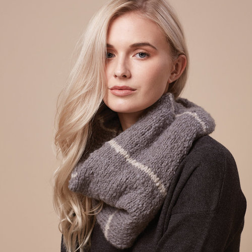 Rowan Striped Snood (Free) -  ()