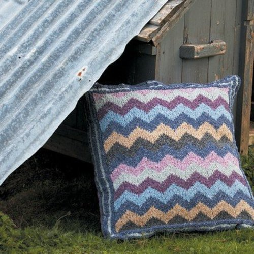 Rowan Zig Zag Floor Cushion (Free) -  ()