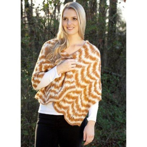 Rozetti Climbing Leaves Shawl (Free) -  ()