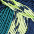 Schachenmayr Merino Extrafine 120 Color - Amsterdam Mix - Blue, Teal, Lime (493)