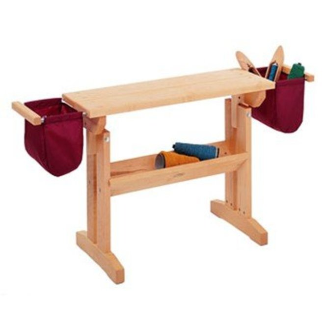 Schacht maple loom bench at webs yarn schacht maple loom bench maple bench 3801 sciox Image collections