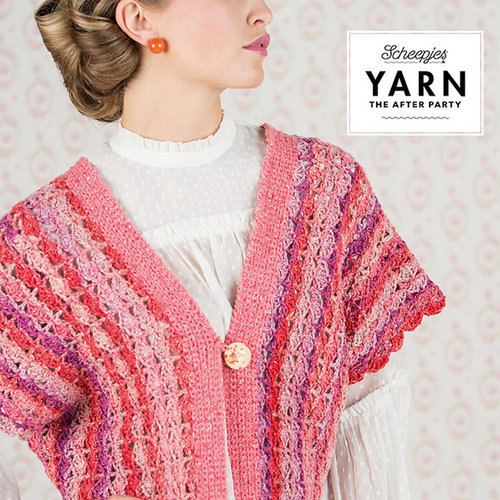 "Scheepjes Coral Dreams Cardigan Kit - 43.25"" (01)"
