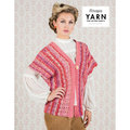 "Scheepjes Coral Dreams Cardigan Kit - 47.25"" (02)"