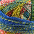 Schoppel Wolle Zauberball Crazy - Blue, Olive, Red, Yellow (1701)