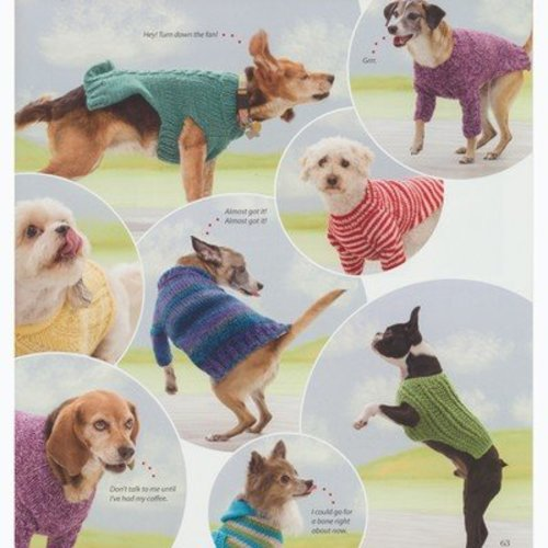 Seamless Knits for Posh Pups -  ()